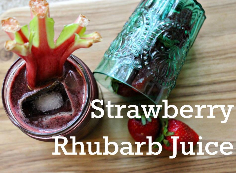 Strawberry Rhubarb (Top 5 Juice Recipe Bundle)