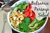 Balsamic Parsnip Salad