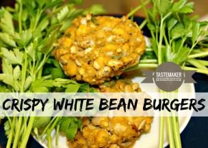 Crispy White Bean Burgers