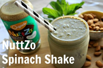 Nuttzo Spinach Shake.