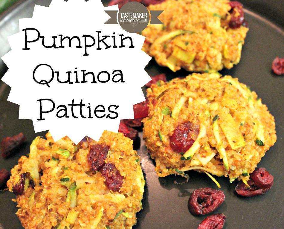 Pumpkin Quinoa Patties