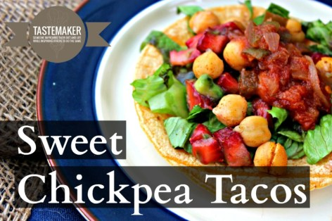 Sweet Chickpea Tacos