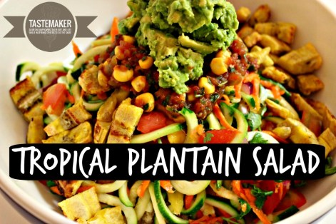 Tropical Plantain Salad