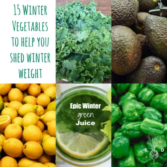 15 Winter Vegetables to Shed Winter Weight