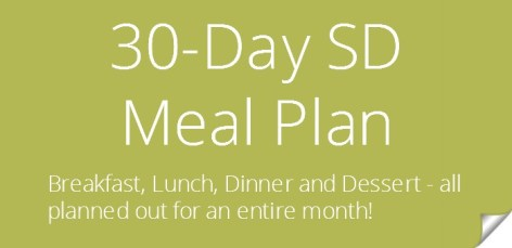 30-Day SD Meal Plan