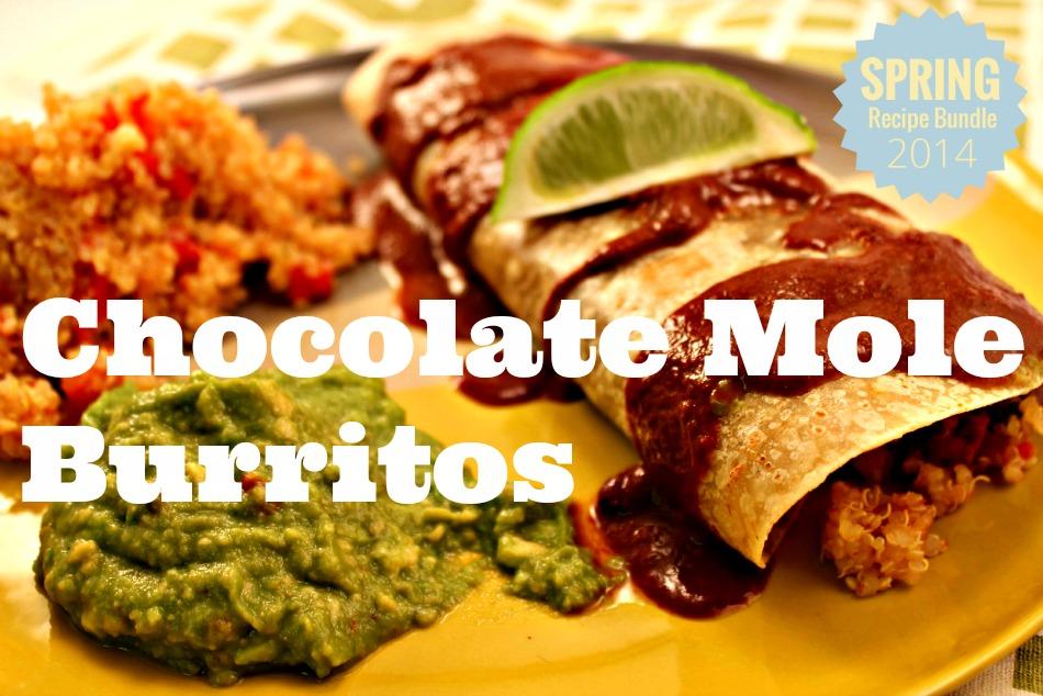 Chocolate Mole Burritos