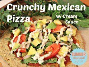 Crunchy Mexican Pizza