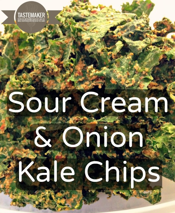 Sour Cream & Onion Kale Chips