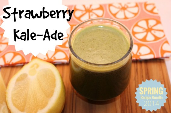 Strawberry Kale-Ade