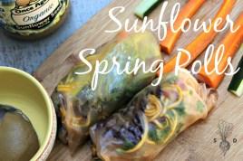 Sunflower Spring Rolls