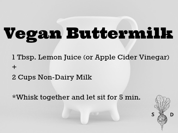 vegan buttermilk recipe