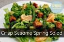 Crisp Sesame Spring Salad.