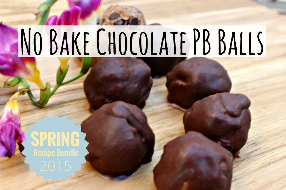 No Bake Chocolate PB Balls