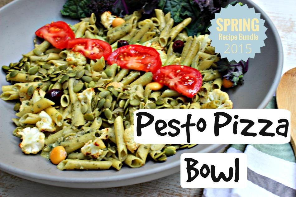 Pesto Pizza Bowl.