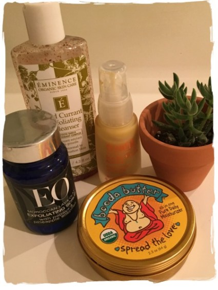 Use gentle cleaners and moisturizers on your skin