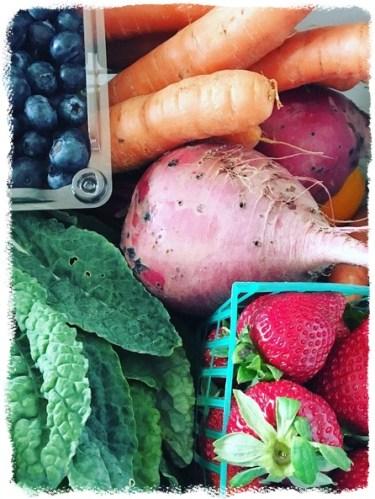 take advantage of seasonal produce - healthy meal planning