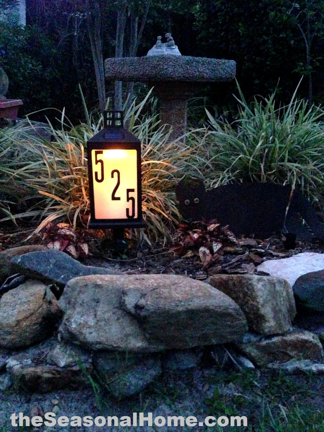 Lighted Outdoor Yard Signs