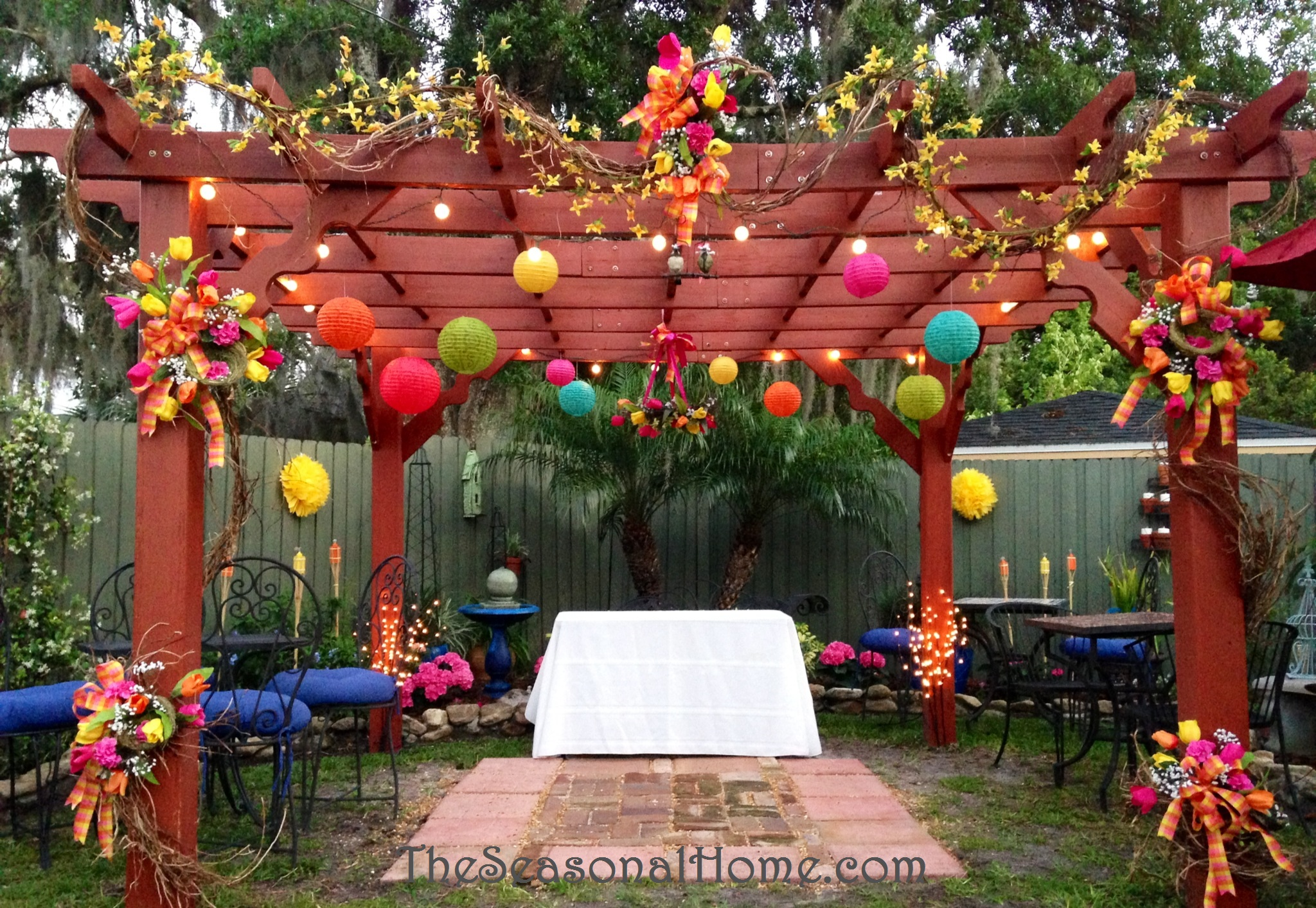 Outdoor Hanging Garden Decor