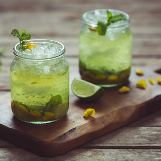 Gorse Flower and Raw Honey Mojito