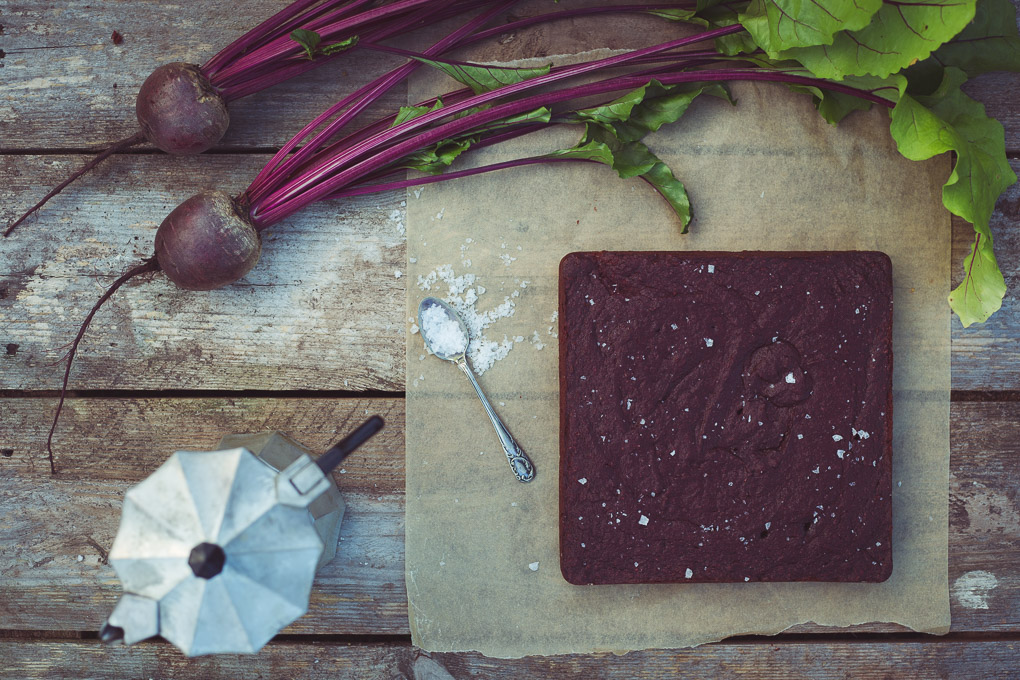 Beetroot, Cocoa and Sea Salt Cake | https://theseasonaltable.co.uk/sweet/beetroot-cocoa-and-sea-salt-cake/