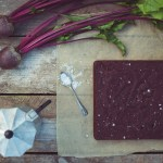 Beetroot, Cocoa and Sea Salt Cake -- Seasonal Food | https://theseasonaltable.co.uk/sweet/beetroot-cocoa-and-sea-salt-cake/