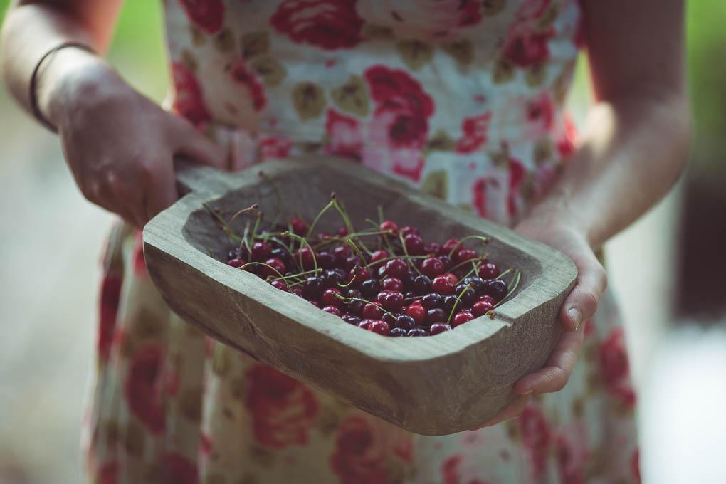 Wild Cherry Sour -- seasonal recipes UK | https://theseasonaltable.co.uk/drinks/wild-cherry-sour/