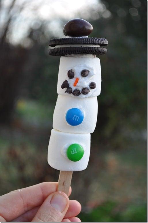 Marshmallow Snowman 2