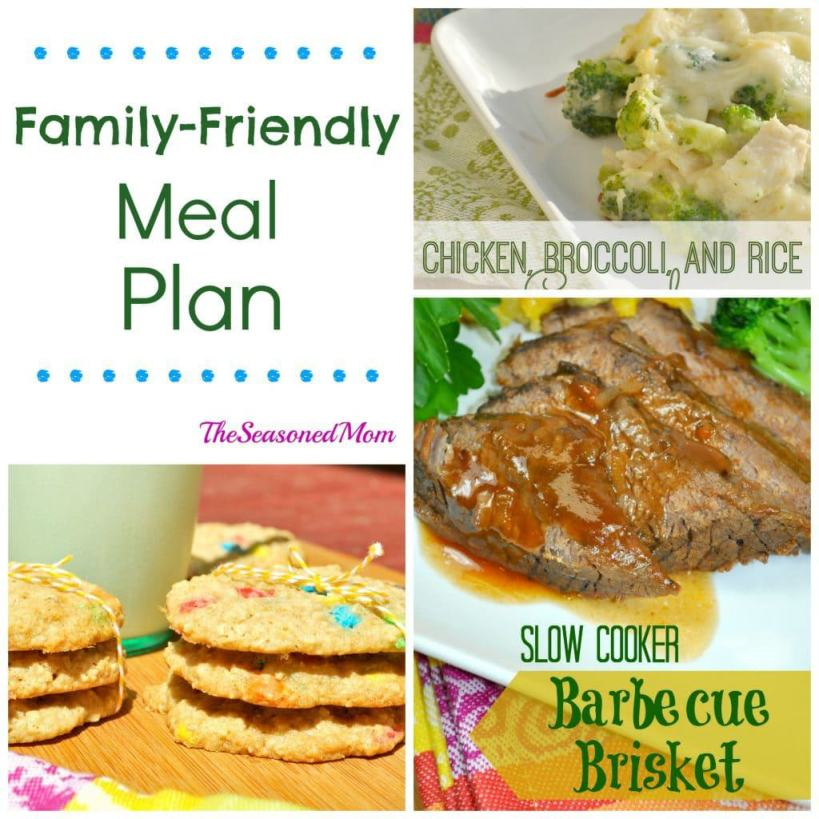 Family Friendly Meal Plan