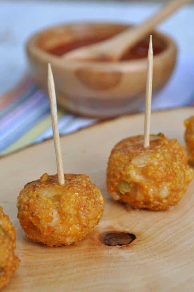 Healthy Chicken Taco Meatballs 3