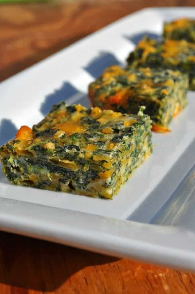 Spinach and Cheese Squares 2