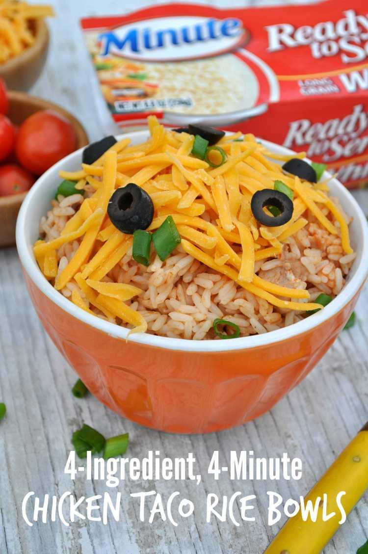 Chicken Taco Rice Bowls 6