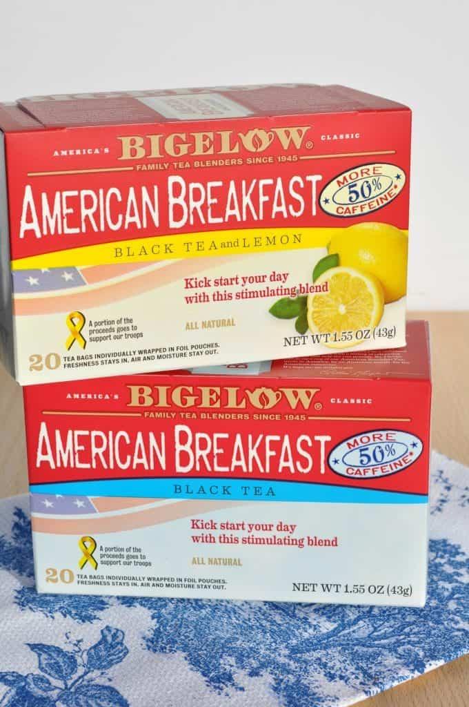 Bigelow Tea Boxes