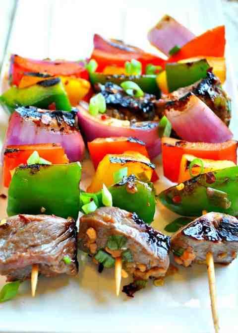 Korean Beef Kabobs 3