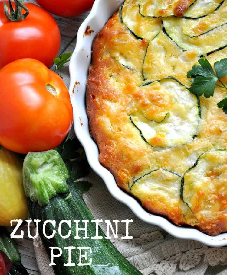 Zucchini Pie Text