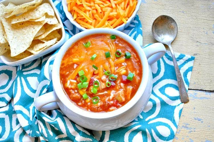 Shortcut Mexican Chicken and Rice Soup 4