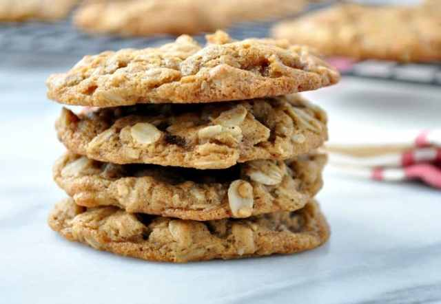 Ginger Oatmeal Cookies 4
