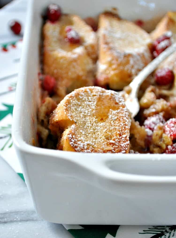 Overnight Cranberry French Toast Casserole 12