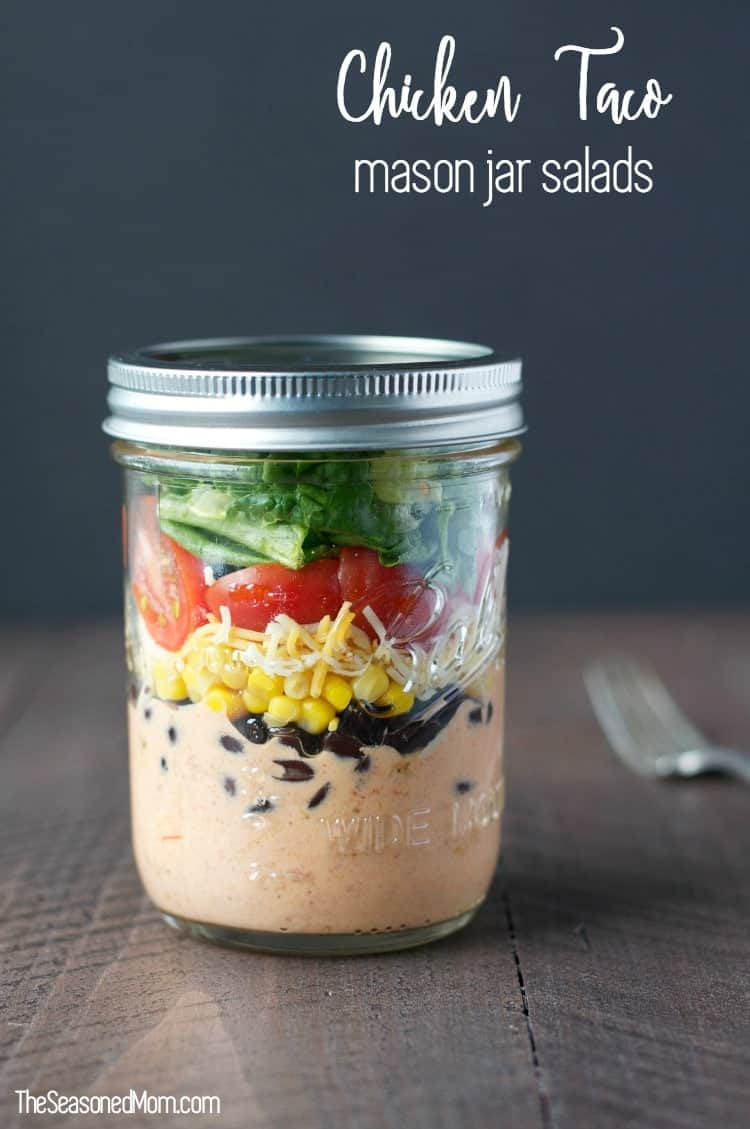 Chicken Taco Mason Jar Salads TEXT 3