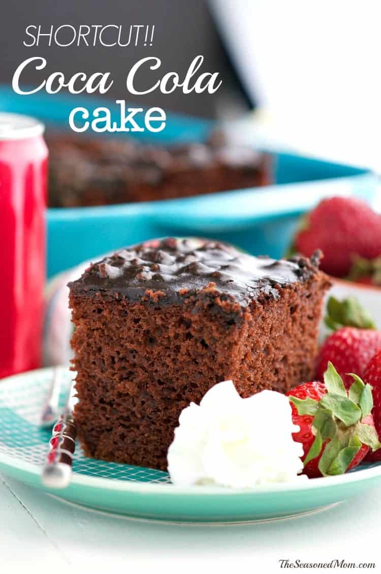 Coca Cola Cake With Box Mix