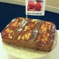 Spiced Toffee Apple Cake