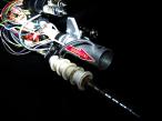 Hard gamma carbine with distance specific detonation