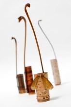 Bark vessels with horse chestnut leak stalks