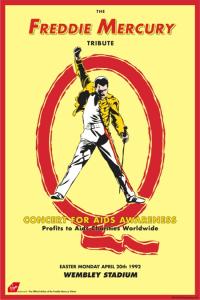 freddie tribute poster