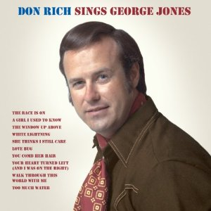 Don Rich Sings George Jones cover