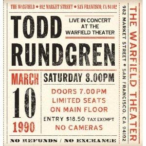 Todd Rundgren - Warfield