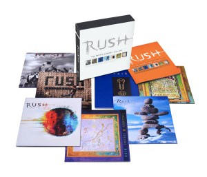 rush thestudioalbums productshot