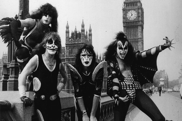 KISS in England