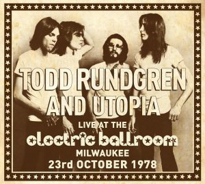 Todd and Utopia - Electric Ballroom