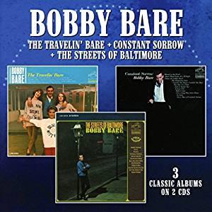 Bobby Bare Travelin Bare Three Fer