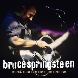 Coming Back To Your Hometown: Bruce Springsteen Releases 1996 Freehold Concert Featuring the Premiere of a Rare Song